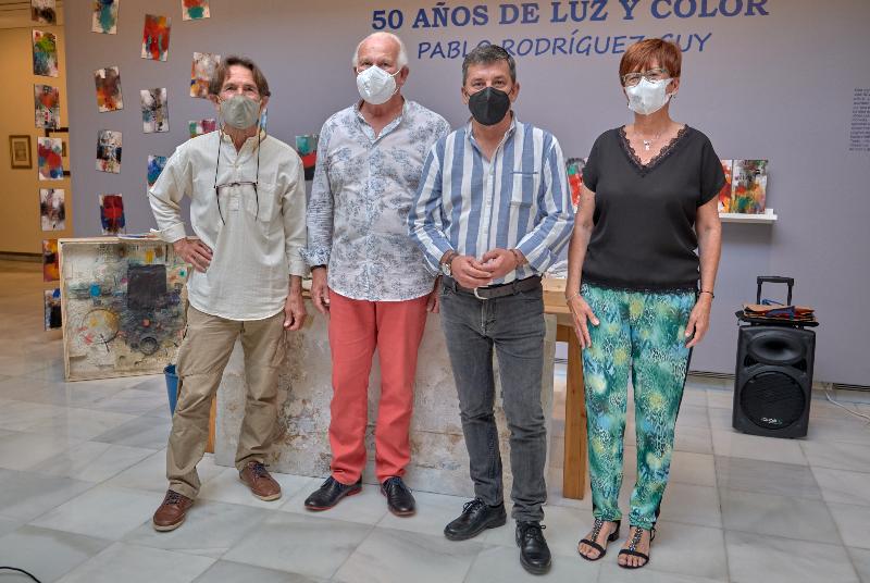 EL CENTRO DE EXPOSICIONES REABRE SUS PUERTAS CON UNA MUESTRA ANTOLÓGICA DE LA OBRA DE PABLO RODRÍGUEZ GUY