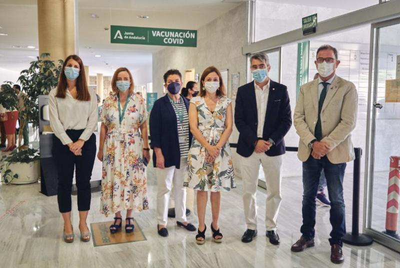 EL HOSPITAL DE ALTA RESOLUCIÓN DE BENALMÁDENA ACOGE DESDE HOY LA VACUNACIÓN MASIVA CONTRA LA COVID, CON UNA CAPACIDAD DE HASTA 1.500 DOSIS DIARIAS