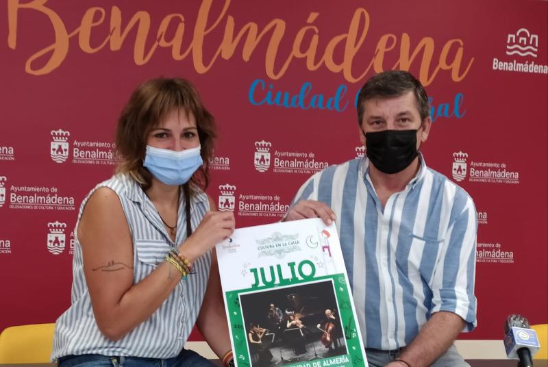 LA ORQUESTA CIUDAD DE ALMERÍA PROTAGONIZARÁ EL PRÓXIMO EVENTO DE 'CULTURA EN LA CALLE'