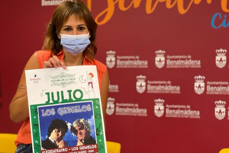 ALEZEIATEATRO SE SUMA A LA PROGRAMACIÓN DE 'CULTURA EN LA CALLE' CON LA OBRA 'LOS GEMELOS'