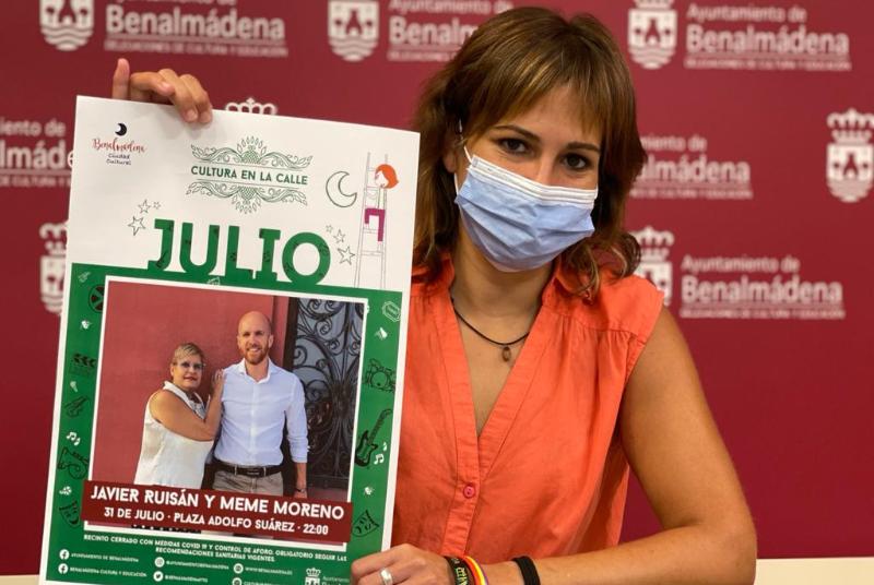 JAVIER RUISÁN Y ALICIA ESPINAR TRAEN A 'CULTURA EN LA CALLE' UN CONCIERTO CON LA IGUALDAD DE GÉNERO COMO PROTAGONISTA
