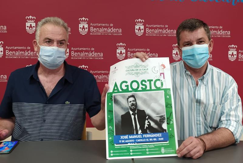 EL FLAMENCO VUELVE A 'CULTURA EN LA CALLE' CON EL CONCIERTO DE JOSÉ MANUEL FERNÁNDEZ