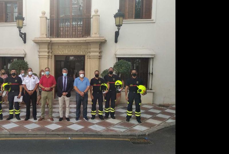SEIS NUEVOS BOMBEROS SE INCORPORAN AL SERVICIO MAÑANA MARTES 21 DE SEPTIEMBRE