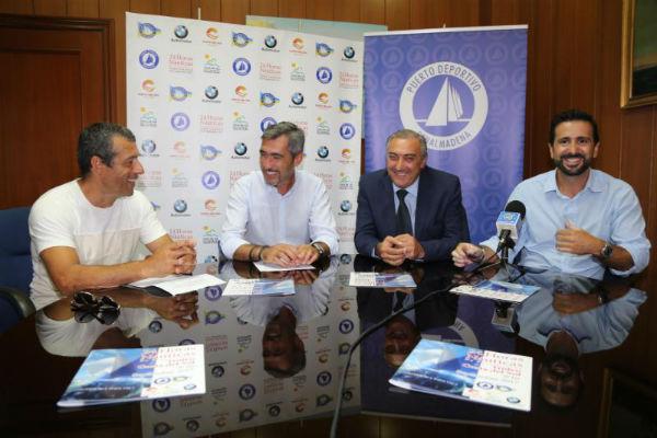 El Alcalde Victor Navas presenta ´Las 24 Horas Náuticas de Benalmádena-Trofeo Costa del Sol¨