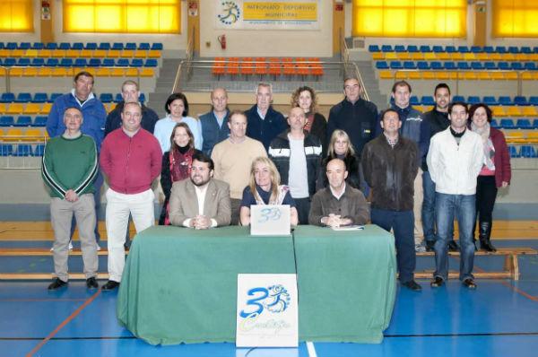 La Alcaldesa de Benalmádena preside la presentación del nuevo logo del Patronato Deportivo Municipal