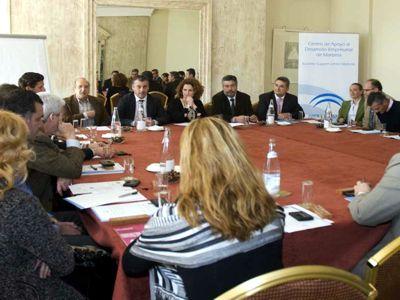 Reunión entre empresarios de Benalmádena e Innovación