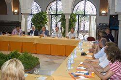 Enrique Bolín se reúne con alcaldes rumanos