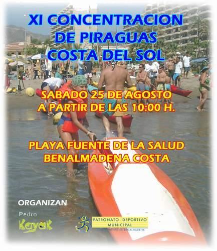 XI CONCENTRACION DE PIRAGUAS COSTA DEL SOL