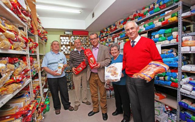 Bienestar Social incrementa la campaña de recogida de alimentos en los supermercados