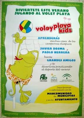 El Voley Playa Kids llega a la playa Fuente de la Salud