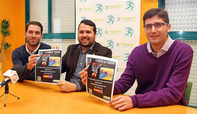 El Club Básquet Benalmádena enriquecerá sus entrenamientos con la práctica del inglés