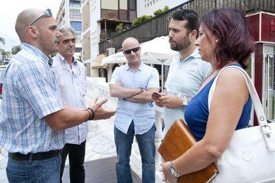 Los Comerciantes Agradecen al Ayuntamiento los Trabajos de Mejora y Adecentamiento en la Avenida Alay.