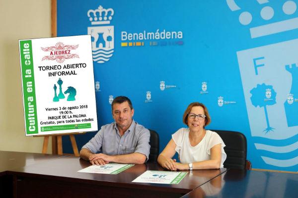Vuelven los torneos de ajedrez al Parque de la Paloma con 'Cultura en la Calle'