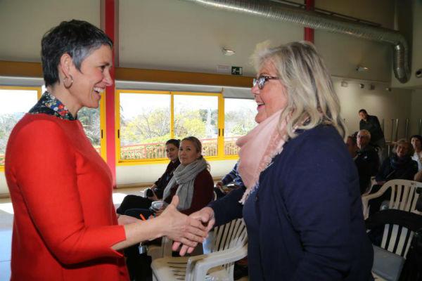 La Concejala Ana Scherman mantiene un encuentro con la Asociación Finlandesa de Benalmádena