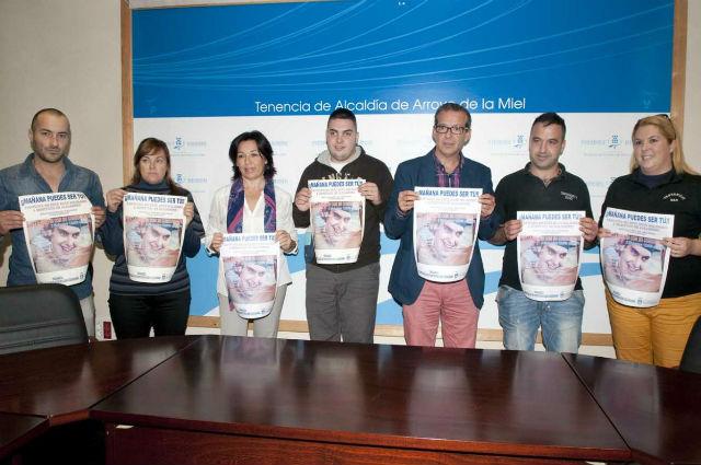 El Ayuntamiento organiza un acto solidario a beneficio de Alejandro Duarte