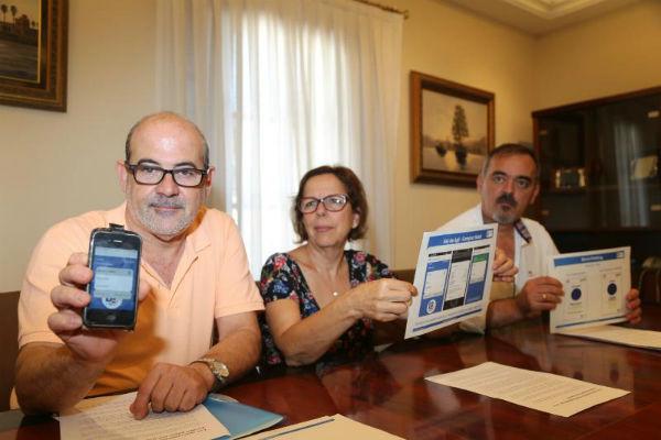 El usuario de la zona azul de aparcamiento en Benalmádena podrá abonar su uso a través del móvil