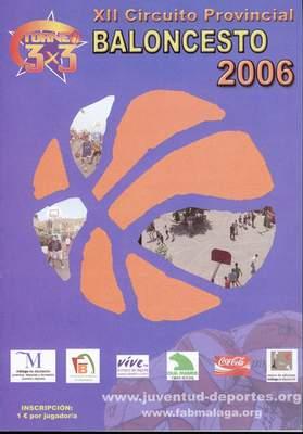Circuito de Baloncesto 3x3 en la calle