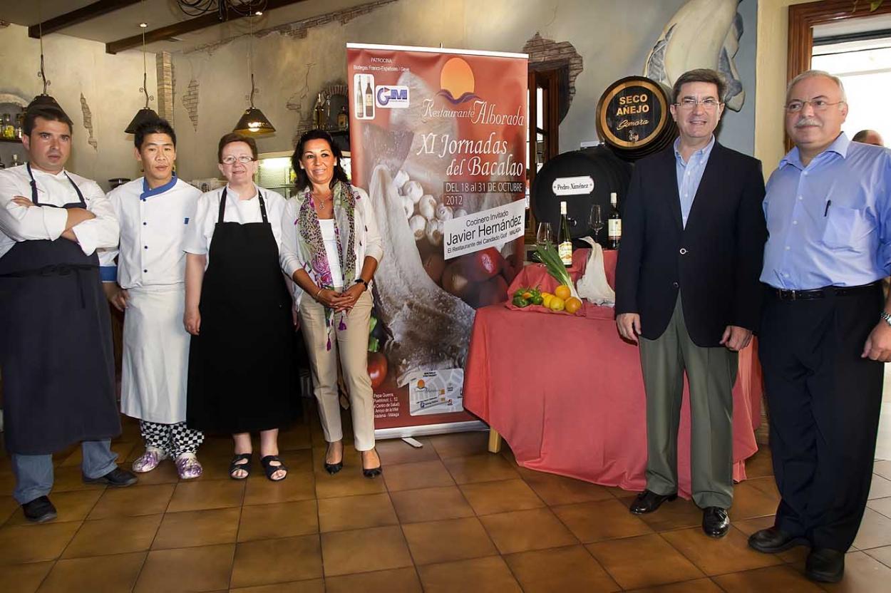 El restaurante Alborada inagura las XI Jornadas Gastronómicas del Bacalao