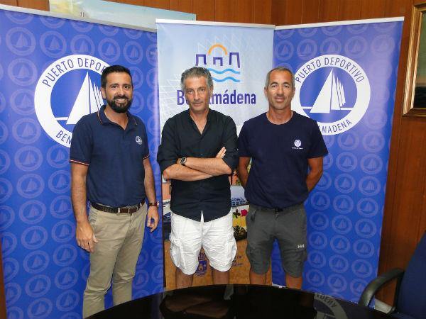 El Puerto Deportivo patrocinará el velero de Javier Banderas en la 37º Copa del Rey de Vela.