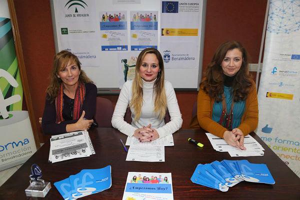 La Concejala Beatriz Olmedo presenta la jornada informativa sobre el proyecto 'Benemplea Joven'