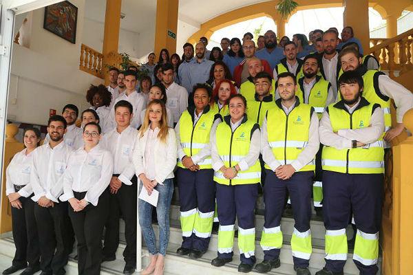La Concejala Beatriz Olmedo visita los Cursos del Proyecto Operativo de Empleo Juvenil, del que se benefician 75 jóvenes