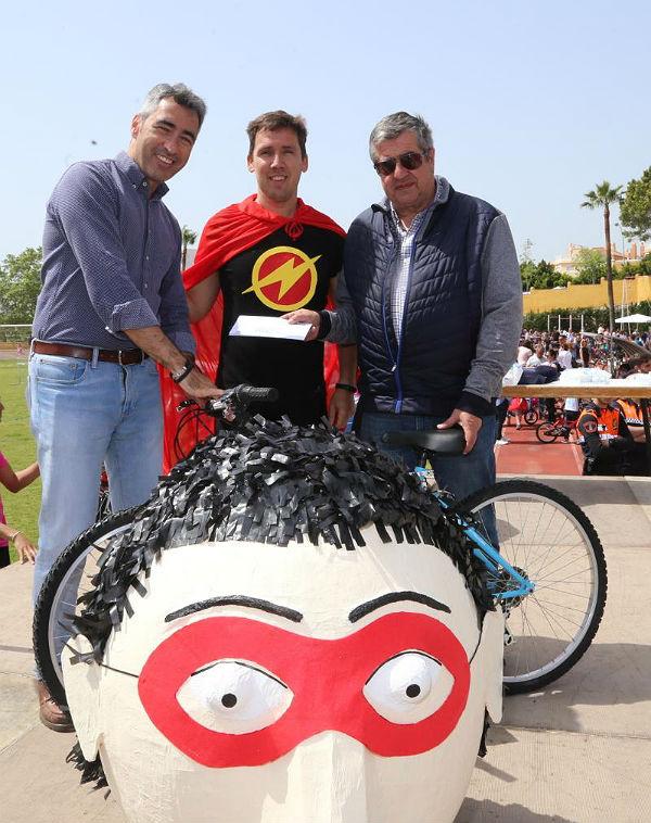 Más de 900 personas participaron en la 35º edición de la Fiesta de la Bicicleta