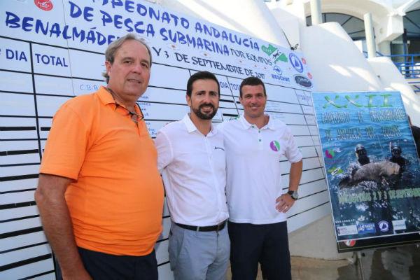 El Club Buceo Benalmádena se proclama Campeón de Andalucía en Pesca Submarina por Benalmádena