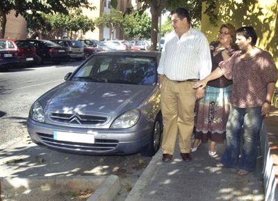 Concluyen los arreglos en calle Ciudad de Melilla