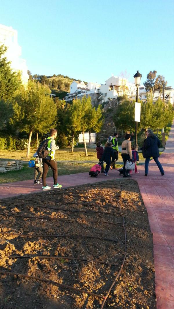 Los alumnos de los Colegios La Paloma y Jacaranda empiezan el Plan Piloto 'Caminos Escolares Seguros'