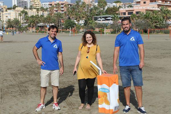 Entra en su recta final la Campaña Itinerante de Sensibilización Ambiental sobre la Limpieza en Playas que comenzó en junio