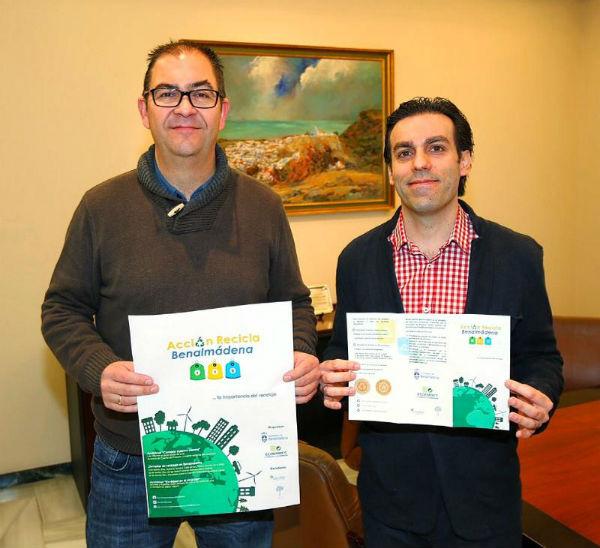 El Ayuntamiento pone en marcha una campaña de educación ambiental denominada 'Acción Recicla Benalmádena'