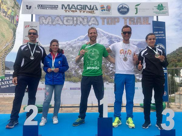 El benalmadense Rubén Heemskerk Herrero, Campeón de Andalucía de Ultradistancia en categoría Senior
