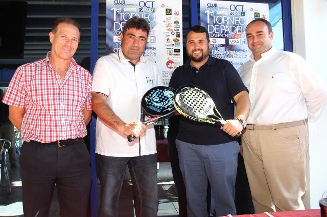 El Club de Raqueta celebrará este fin de semana el I Torneo de Pádel y Diversión en Familia