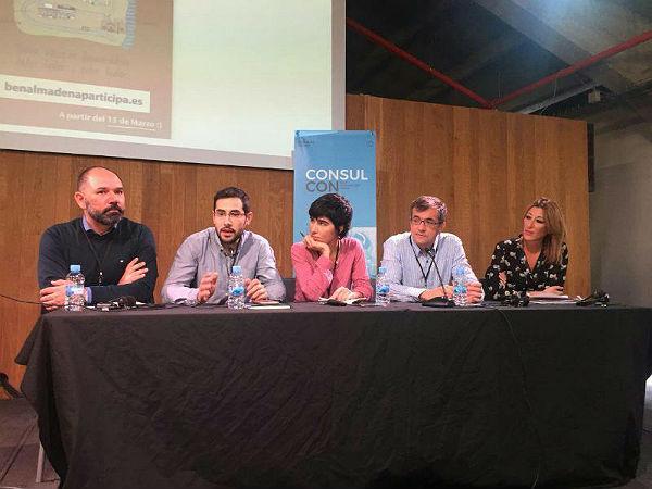 El Portal de Participación Ciudadana de Benalmádena se posiciona como un referente nacional en un encuentro celebrado en Madrid sobre iniciativas de participación ciudadana