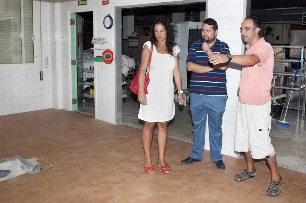 El Ayuntamiento trabaja en la remodelación y puesta a punto del CEIP Miguel Hernández