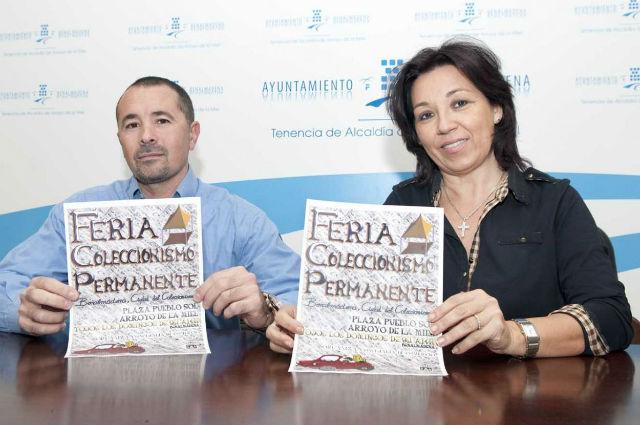 El Ayuntamiento organiza la I Feria del Coleccionismo en Arroyo de la Miel