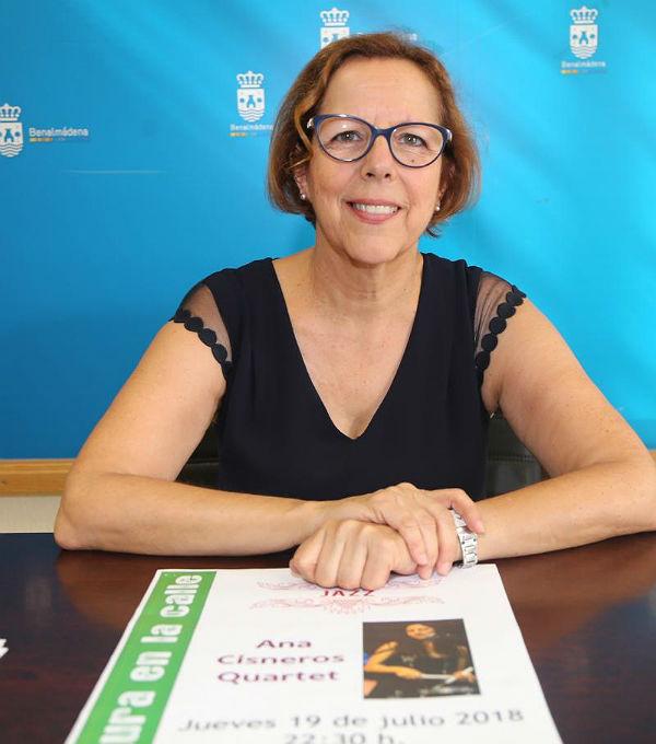 ANA CISNEROS QUARTET TRAE SU JAZZ AL ENTORNO DEL CASTILLO DE BIL-BIL EN LA NUEVA ACTUACIÓN DE 'CULTURA EN LA CALLE'