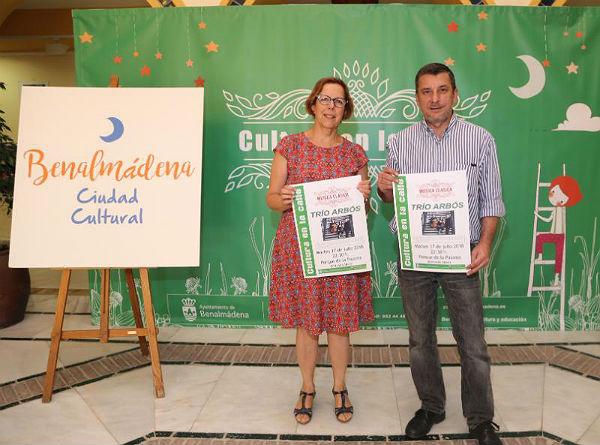 El prestigioso Trío Arbos abre el Ciclo de Música Clásica de 'Cultura en la Calle' en el Parque de la Paloma el 17 de julio