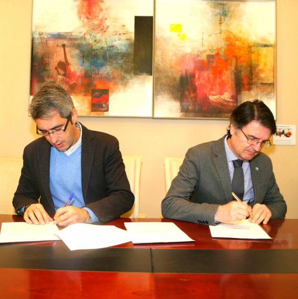 Benalmádena suscribe un Convenio con el Colegio de Arquitectos para la tramitación telemática de expedientes urbanísticos