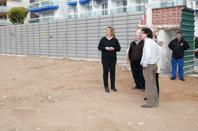 El ayuntamiento de Benalmádena culmina los trabajos de demolición del antiguo Hotel Park