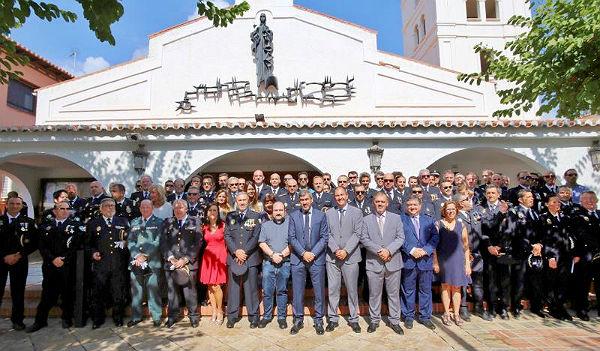 La Iglesia de la Inmaculada Concepción acoge el Acto Institucional de la Festividad del Santo Patrón de la Policía Local