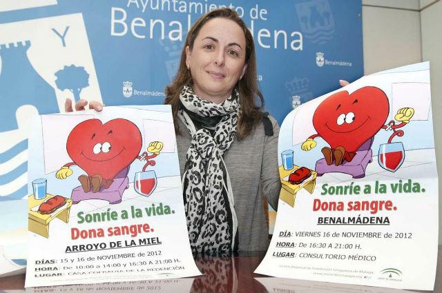 Benalmádena celebra este viernes una campaña de donación de sangre