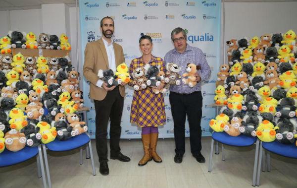 Emabesa dona 1.200 peluches para la Cabalgata de Reyes Magos
