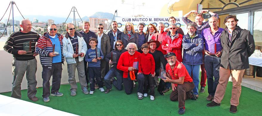 Más de una veintena de embarcaciones participa en el XX Trofeo Inerclubes