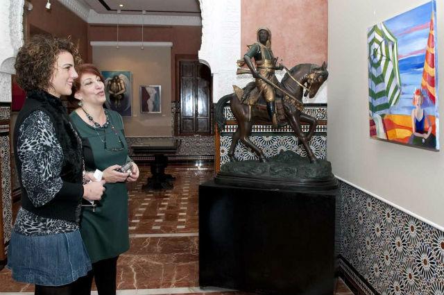 El Castillo del Bil-Bil abre sus puertas a la exposición de Mabel Báez Sposato
