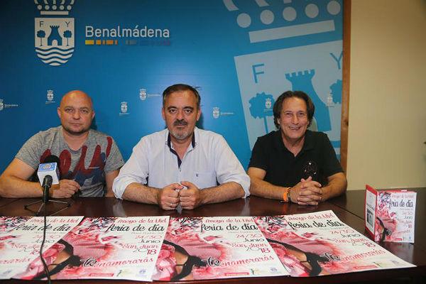 El Concejal Bernardo Jiménez presenta la quinta edición de la Feria de Día de Arroyo de la Miel