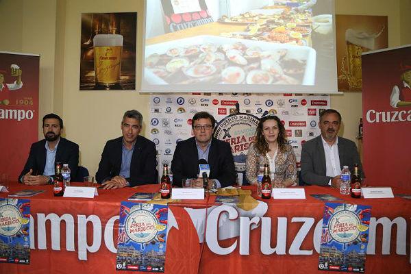El Puerto Deportivo acoge del 27 de abril al 1 de mayo la X Feria del Marisco