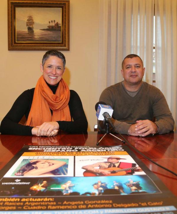 El Auditorio Municipal acogerá en Encuentro Folklórico Hispano-Argentino el sábado 5 de mayo
