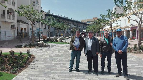 La remodelación del Paseo del Generalife afronta su recta final para concluirse este mes de mayo