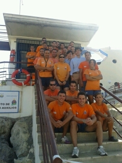 El consistorio agradece la impecable labor de los voluntarios de Protección Civil durante la temporada estival